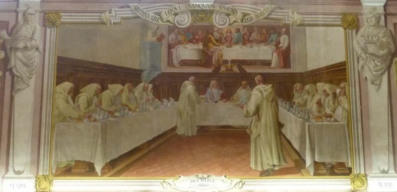 I monaci e il granduca a tavola