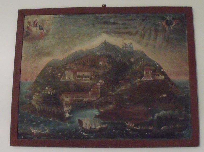 L'arrivo dei monaci certosini sull'isola della Gorgona