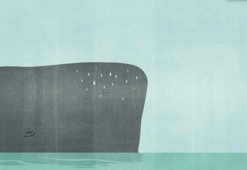 """Alessandro Gottardo - illustrazione da """"C'era una voce"""" ed. Topipittori"""
