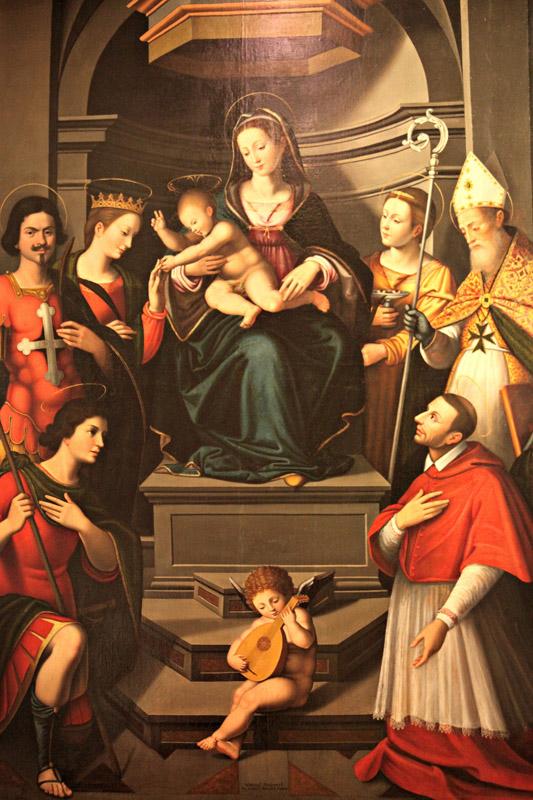 Il matrimonio mistico di Santa Caterina di Isabella Fiorentini