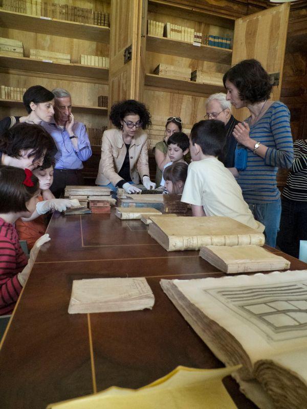 Eccoci in biblioteca con le famiglie