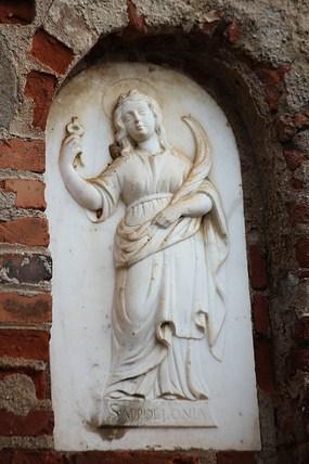Sant'Apollonia con le tenaglie