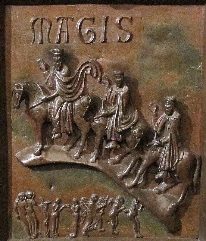 Il viaggio dei Magi della Porta di San Ranieri
