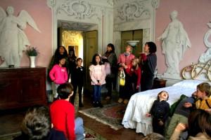 Famiglie in villa