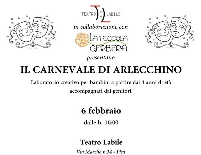 Il carnevale di Arlecchino-Festa