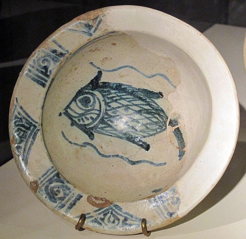 bacini ceramici - pesce
