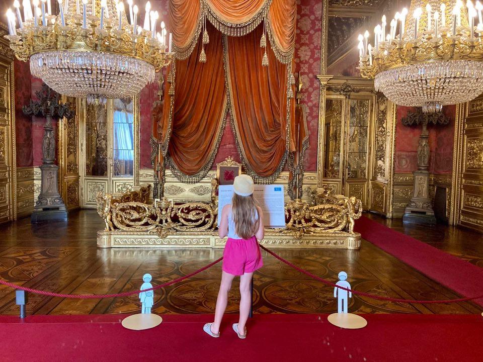 in visita a palazzo reale di torino